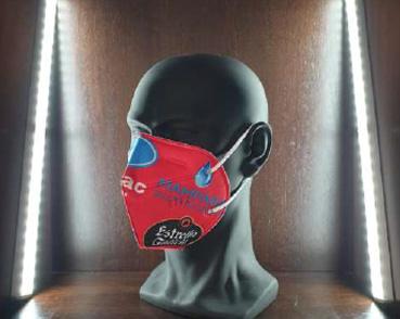 Media Máscara filtrante FFP2 PERSONALIZABLE cinco capas